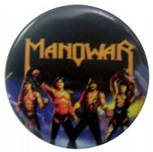 Manowar - 'Fighting the World' Button Badge